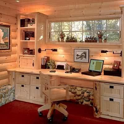 outdoor office backyard shed office
