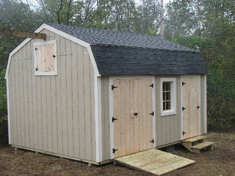 Storage sheds kits for sale build your own storage shed for Build your own barn online